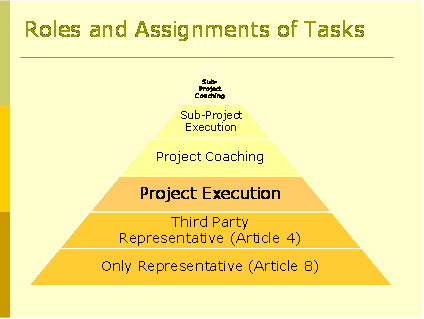 REACh Roles and Assignment of Tasks